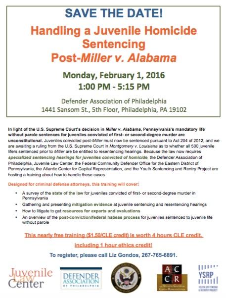 juv sentencing flyer