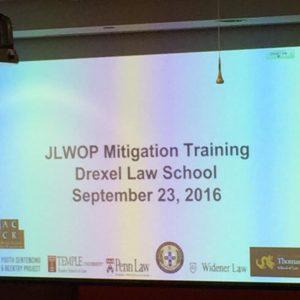 Juvenile Life Without Parole (JLWOP) Mitigation Project Kicks Off At Drexel Law