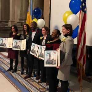 YSRP Co-Director Lauren Fine Honored By City Council
