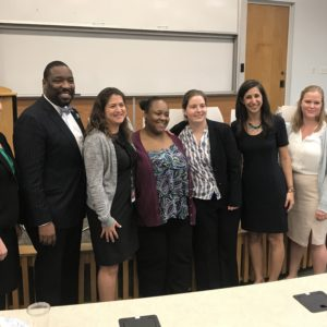 """YSRP, Parent Advocate Kameelah, Justice Lab, DHS, And Councilman Johnson Speak On Panel At Temple Law Called """"Advocacy In Action"""""""